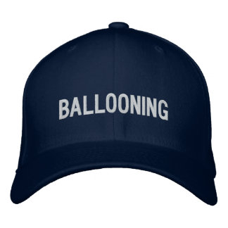 Ballooning Embroidered Baseball Caps