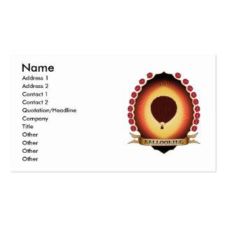 Ballooning Mandorla Business Card