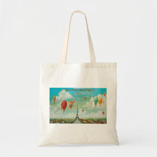 Ballooning Over Paris Budget Tote Bag