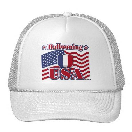 Ballooning USA Hat