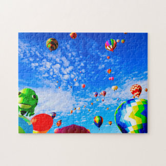 Balloons Albuquerque New Mexico. Jigsaw Puzzle
