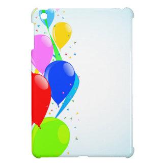 Balloons and Confetti Party iPad Mini Cases
