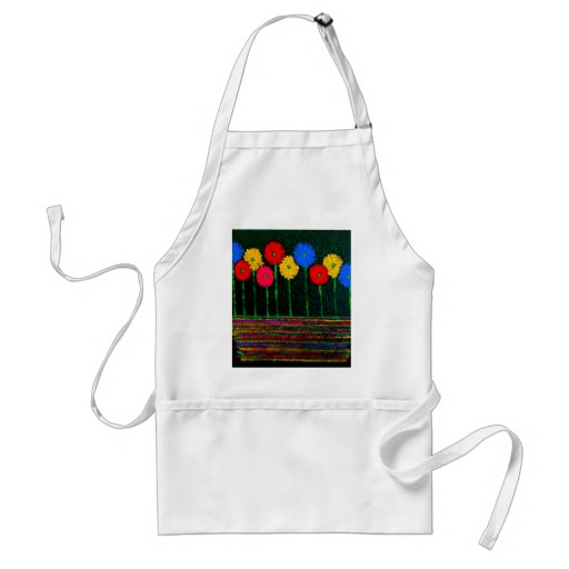 Balloons and Flowers Apron