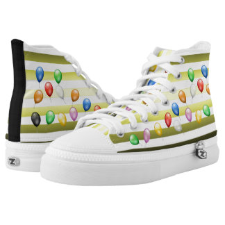 Balloons ~ Beach Party Time ~ Music ~ Swimming ~ Printed Shoes