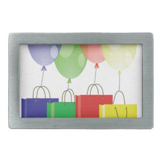 balloons belt buckle