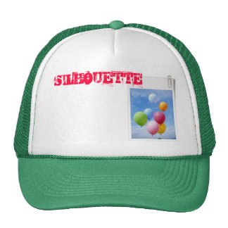 balloons by silhouette cap