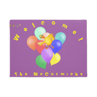 Balloons by The Happy Juul Company Doormat