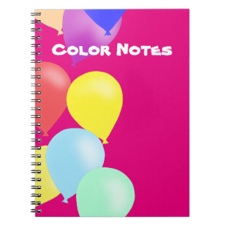 Balloons by The Happy Juul Company Notebook