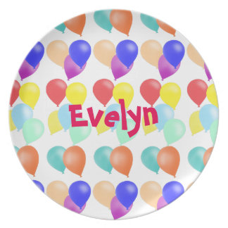 Balloons by The Happy Juul Company Party Plate