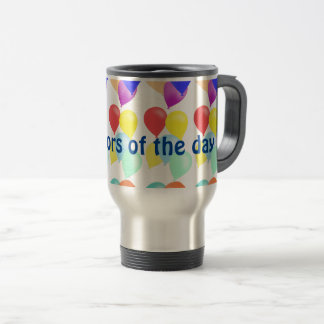 Balloons by The Happy Juul Company Travel Mug