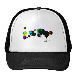 balloons trucker hats