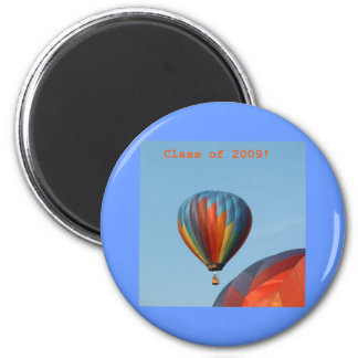 Balloons!  Class of 2009! 6 Cm Round Magnet