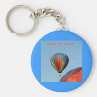 Balloons!  Class of 2009! Basic Round Button Key Ring