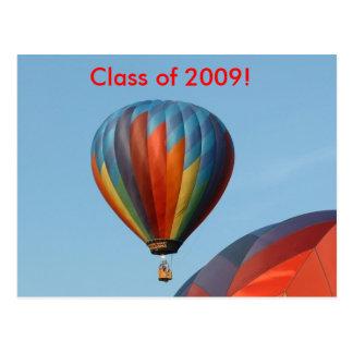 Balloons!  Class of 2009! Postcard