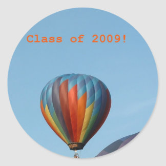 Balloons!  Class of 2009! Round Sticker
