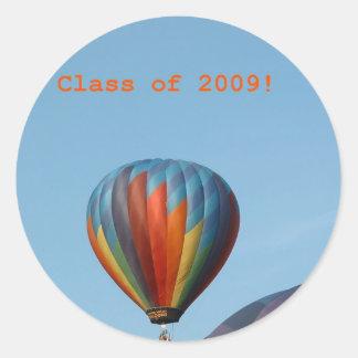 Balloons!  Class of 2009! Sticker