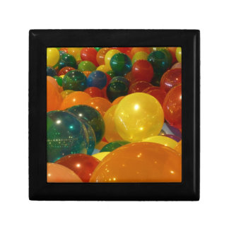 Balloons Colorful Party Design Gift Box