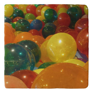 Balloons Colorful Party Design Trivet