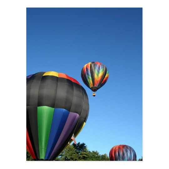 Balloons Colourful Launch! Postcard