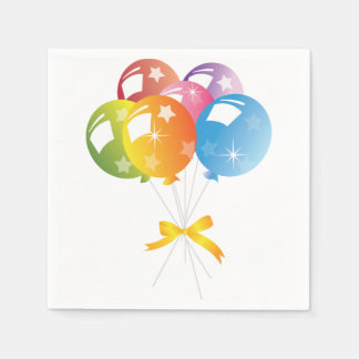 Balloons Disposable Napkins