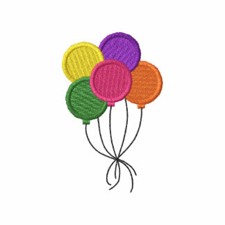 Balloons Embroidered Hoody