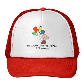 Balloons full of farts cap