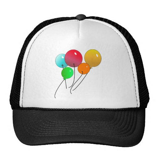 Balloons Mesh Hats