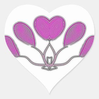 Balloons Heart Sticker