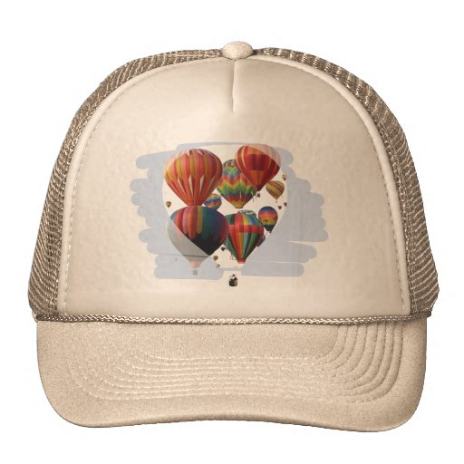 Balloons In A Balloon Mesh Hat