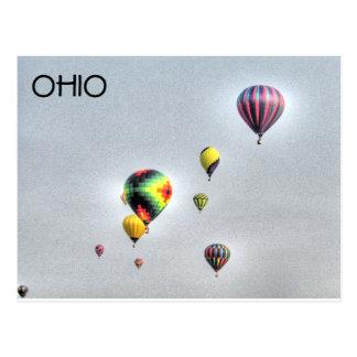 Balloons in Ohio Postcard
