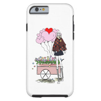 BALLOONS LANKY6  iPHONE 6 BARELY THERE Tough iPhone 6 Case