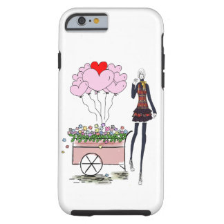 BALLOONS LANKY 7  iPHONE 6 BARELY THERE Tough iPhone 6 Case
