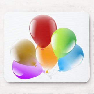Balloons Mouse Pad