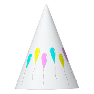 Balloons Party Hat