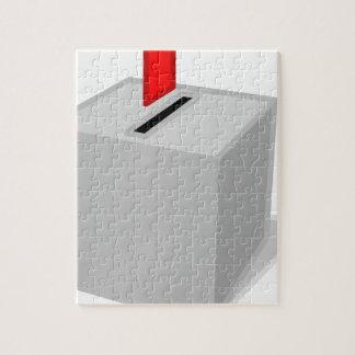 Ballot Box Jigsaw Puzzle