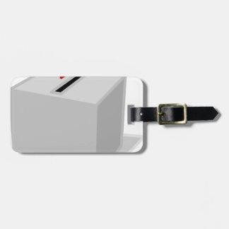 Ballot Box Luggage Tag