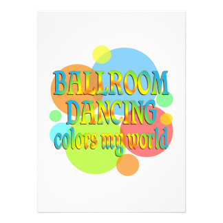 Ballroom Colors My World Announcements