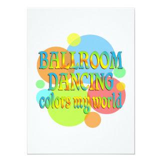 Ballroom Colors My World Announcements