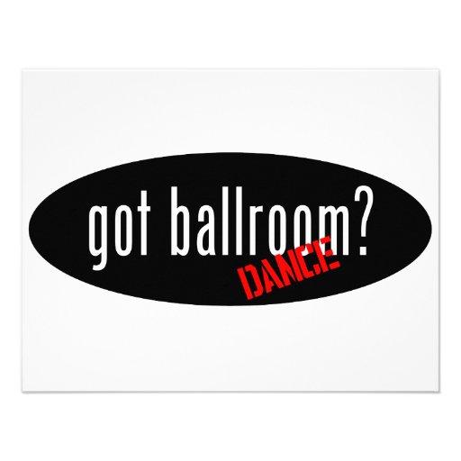 Ballroom Dance Items – got ballroom Personalized Invitation