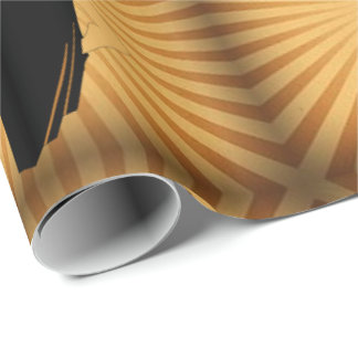 Ballroom Dancers Dancing Couple Wrapping Paper