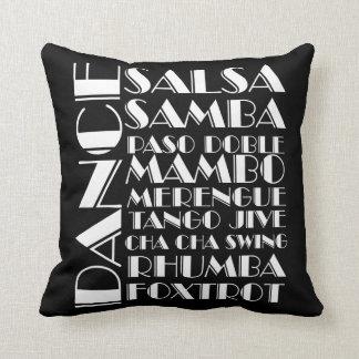 ballroom dances cushion