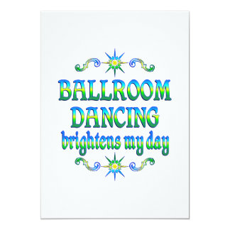 Ballroom Dancing Brightens Announcements