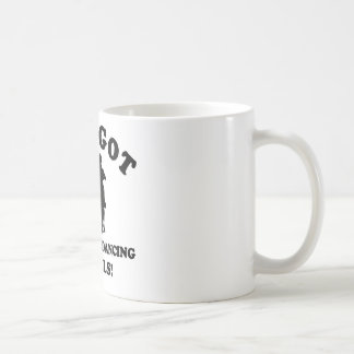 Ballroom dancing designs coffee mug