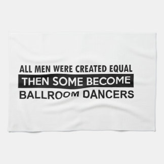 Ballroom dancing designs tea towel