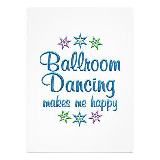 Ballroom Dancing Happy Custom Invitation