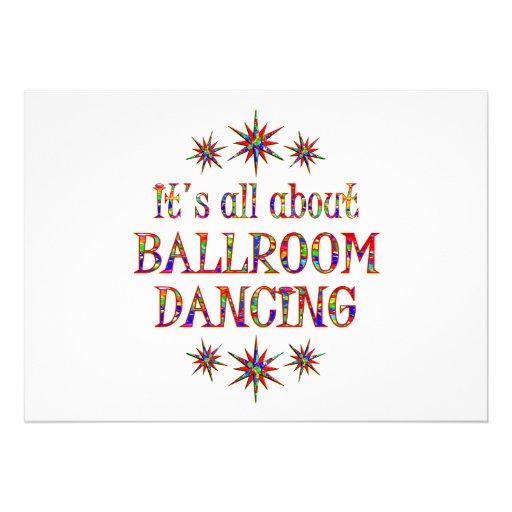 BALLROOM DANCING INVITATIONS