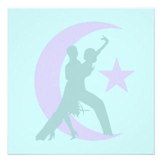 Ballroom dancing invite