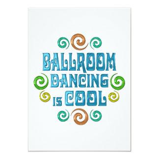 Ballroom Dancing is Cool 13 Cm X 18 Cm Invitation Card