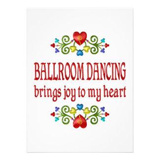 Ballroom Dancing Joy Personalized Invitations