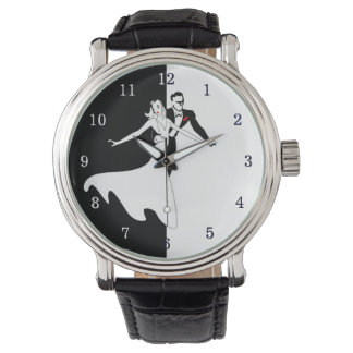 Ballroom Dancing Leather Watch